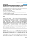 "Báo cáo y học: ""Heterogeneity of autoantibodies in 100 patients with autoimmune myositis: insights into clinical features and outcomes"""
