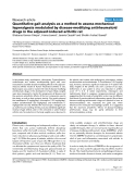"Báo cáo y học: ""Quantitative gait analysis as a method to assess mechanical hyperalgesia modulated by disease-modifying antirheumatoid drugs in the adjuvant-induced arthritic rat"""