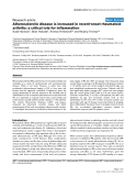 "Báo cáo y học: ""Atherosclerotic disease is increased in recent-onset rheumatoid arthritis: a critical role for inflammation"""