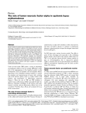 """Báo cáo y học: """"The role of tumor necrosis factor-alpha in systemic lupus erythematosus"""""""