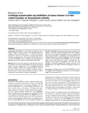 """Báo cáo y học: """"Cartilage preservation by inhibition of Janus kinase 3 in two rodent models of rheumatoid arthritis"""""""