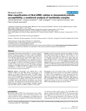 "Báo cáo y học: ""New classification of HLA-DRB1 alleles in rheumatoid arthritis susceptibility: a combined analysis of worldwide samples"""