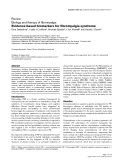 """Báo cáo y học: """" Evidence-based biomarkers for fibromyalgia syndrome"""""""