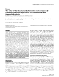 "Báo cáo y học: ""κ The roles of the classical and alternative nuclear factor-κB pathways: potential implications for autoimmunity and rheumatoid arthritis"""