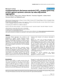 "Báo cáo y học: ""A polymorphism in the human serotonin 5-HT2A receptor gene may protect against systemic sclerosis by reducing platelet aggregation"""
