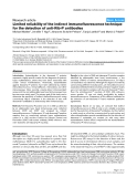 """Báo cáo y học: """"Limited reliability of the indirect immunofluorescence technique for the detection of anti-Rib-P antibodies"""""""