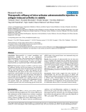 "Báo cáo y học: ""Therapeutic efficacy of intra-articular adrenomedullin injection in antigen-induced arthritis in rabbits"""