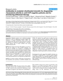"Báo cáo y học: "" Antibodies to mutated citrullinated vimentin for diagnosing rheumatoid arthritis in anti-CCP-negative patients and for monitoring infliximab the"""