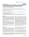 "Báo cáo y học: ""Increased expression of FcγRI/CD64 on circulating monocytes parallels ongoing inflammation and nephritis in lupus"""