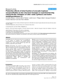 """Báo cáo y học: """"Protective effects of total fraction of avocado/soybean unsaponifiables on the structural changes in experimental dog osteoarthritis: inhibition of nitric oxide synthase and matrix metalloproteinase-13"""""""