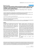 """Báo cáo y học: """"Flow cytometry analysis of glucocorticoid receptor expression and binding in steroid-sensitive and steroid-resistant patients with systemic lupus erythematosus"""""""