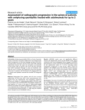 "Báo cáo y học: ""Assessment of radiographic progression in the spines of patients with ankylosing spondylitis treated with adalimumab for up to 2 years"""
