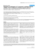 """Báo cáo y học: """"Regulation of pathogenic IL-17 responses in collagen-induced arthritis: roles of endogenous interferon-gamma and IL-4"""""""