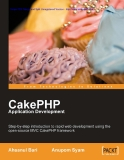 cakephp application development phần 1