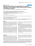 """Báo cáo y học: """"Detection of Chlamydia trachomatis-DNA in synovial fluid: evaluation of the sensitivity of different DNA extraction methods and amplification systems"""""""