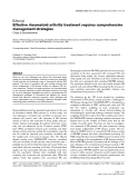 "Báo cáo y học: ""Effective rheumatoid arthritis treatment requires comprehensive management strategies"""