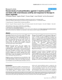 """Báo cáo y học: """"Serum levels of autoantibodies against C-reactive protein correlate with renal disease activity and response to therapy in lupus nephritis"""""""