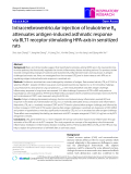 """Báo cáo y học: """" Intracerebroventricular injection of leukotriene B4 attenuates antigen-induced asthmatic response via BLT1 receptor stimulating HPA-axis in sensitized rats"""""""