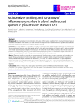 """Báo cáo y học: """"Multi analyte profiling and variability of inflammatory markers in blood and induced sputum in patients with stable COPD"""""""