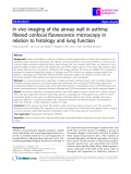 """Báo cáo y học: """" In vivo imaging of the airway wall in asthma: fibered confocal fluorescence microscopy in relation to histology and lung function"""""""