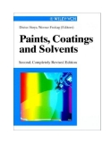Paints, Coatings and Solvents Episode 1