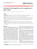 "Báo cáo sinh học: "" Gravitation field algorithm and its application in gene cluster"""