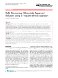 """Báo cáo sinh học: """"DeBi: Discovering Differentially Expressed Biclusters using a Frequent Itemset Approach"""""""