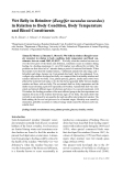 """Báo cáo khoa học: """"Wet Belly in Reindeer (Rangifer tarandus tarandus) in Relation to Body Condition, Body Temperature and Blood Constituents"""""""