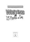 Learning Express Writing in 15 minutes a day  PHẦN 1