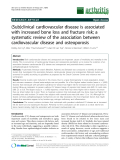 "Báo cáo y học: ""(Sub)clinical cardiovascular disease is associated with increased bone loss and fracture risk; a systematic review of the association between cardiovascular disease and osteoporosis"""