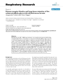 "Báo cáo y học: ""Human receptor kinetics and lung tissue retention of the enhanced-affinity glucocorticoid fluticasone furoate"""