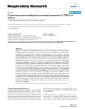 """Báo cáo y học: """" Controversy surrounding the increased expression of TGFβ1 in asthma"""""""