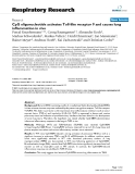 """Báo cáo y học: """" CpG oligonucleotide activates Toll-like receptor 9 and causes lung inflammation in vivo"""""""