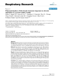 "Báo cáo y học: "" Characterization of the innate immune response to chronic aspiration in a novel rodent model"""