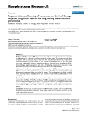 """Báo cáo y học: """"Sequestration and homing of bone marrow-derived lineage negative progenitor cells in the lung during pneumococcal pneumonia"""""""