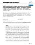 """Báo cáo y học: """"Superoxide dismutase A antigens derived from molecular analysis of sarcoidosis granulomas elicit systemic Th-1 immune responses"""""""
