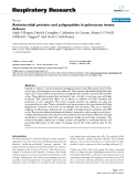 """Báo cáo y học: """"Antimicrobial proteins and polypeptides in pulmonary innate defence"""""""