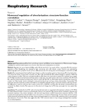 "Báo cáo y học: ""Hormonal regulation of alveolarization: structure-function correlation"""