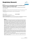 "Báo cáo y học: ""Biochemical and morphological changes in endothelial cells in response to hypoxic interstitial edema"""