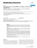 "Báo cáo y học: "" Decreased systemic bioavailability of L-arginine in patients with cystic fibrosis"""