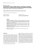 """Báo cáo y học: """"Assessment of tissue oxygen tension: comparison of dynamic fluorescence quenching and polarographic electrode technique"""""""