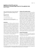 """Báo cáo y học: """"Agitation in the ICU: part one Anatomical and physiologic basis for the agitated state"""""""