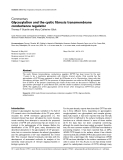 "Báo cáo y học: "" Glycosylation and the cystic fibrosis transmembrane conductance regulator"""