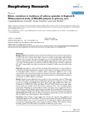 "Báo cáo y học: "" Ethnic variations in incidence of asthma episodes in England & Wales:national study of 502,482 patients in primary care"""