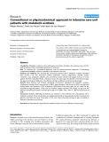 "Báo cáo y học: ""Conventional or physicochemical approach in intensive care unit patients with metabolic acidos"""