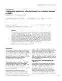 """Báo cáo y học: """"Challenging beliefs and ethical concepts: the collateral damage of SARS"""""""