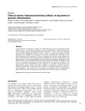 """Báo cáo khoa học: """" Clinical review: Immunomodulatory effects of dopamine in general inflammation"""""""