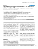 "Báo cáo khoa học: ""Elevated troponin and myocardial infarction in the intensive care unit: a prospective study"""