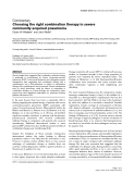 """Báo cáo khoa học: """"Choosing the right combination therapy in severe community-acquired pneumonia"""""""