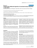 "Báo cáo khoa học: ""Fatality after deliberate ingestion of sustained-release ibuprofen: a case report"""